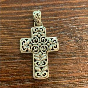 Beautiful intricate prayer cross